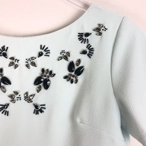 Banana Republic Tops - Banana Republic | Short sleeves embellished top